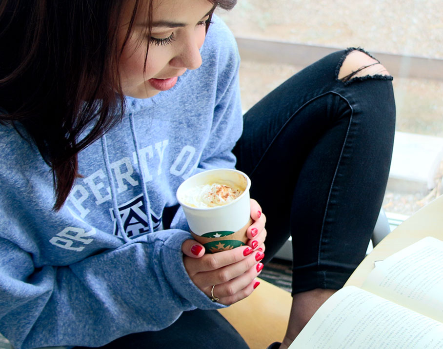 The Perfect Couple...Pair your PSL with a new Arizona hoodie today »