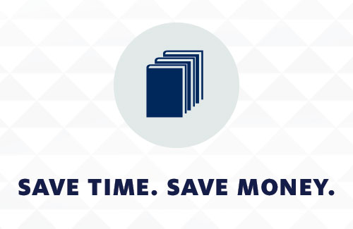 Save Time. Save Money.